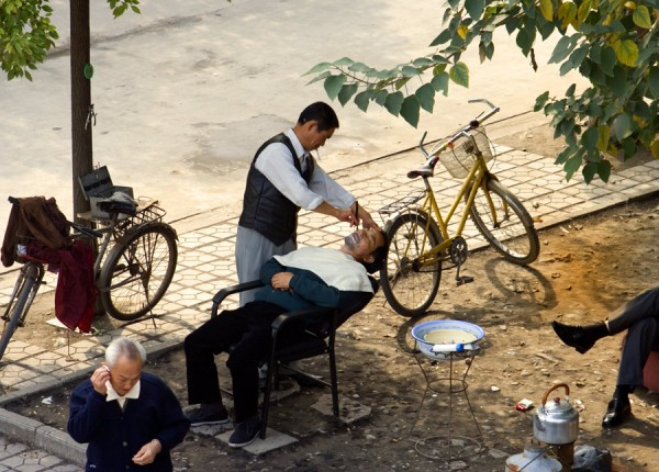 Alfresco Shaving Jingzhou China
