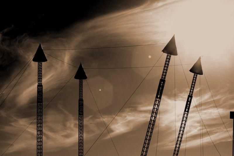 Raising Circus Tent