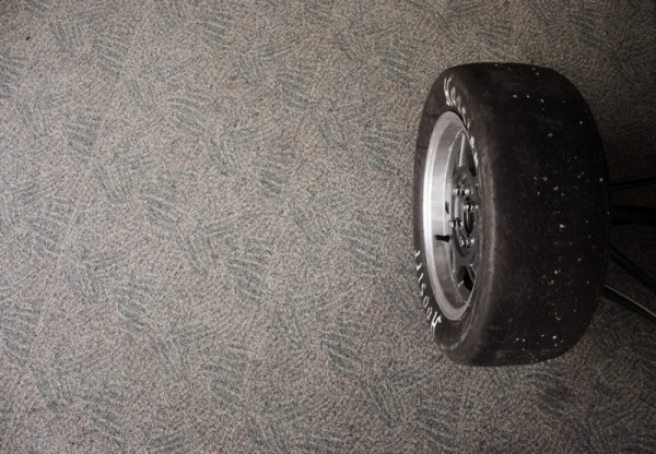 Tyre on Carpet Curtin University