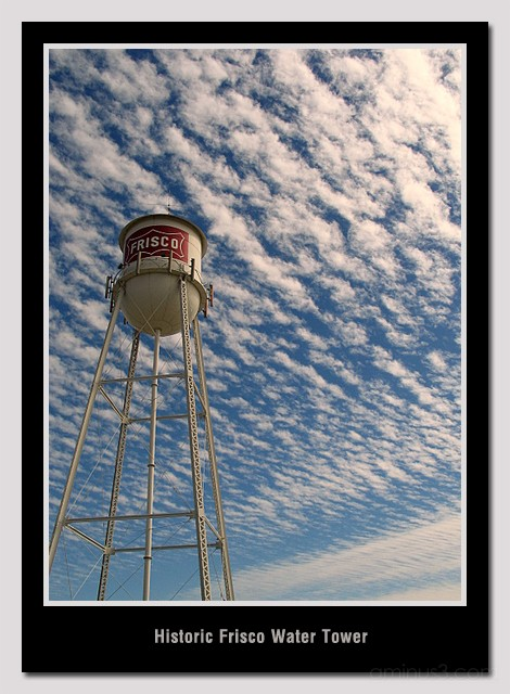 Frisco Historic Water Tower