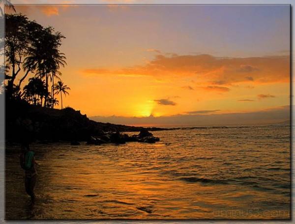 Sunset @ Kapalua Bay, Maui, HI