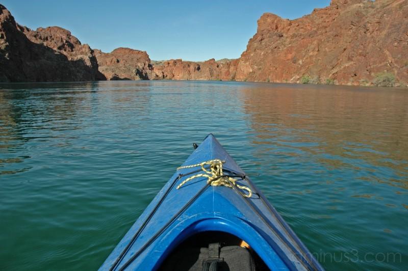 topock gorge, kayak