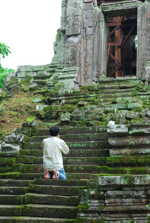 Worshipper, Cambodia