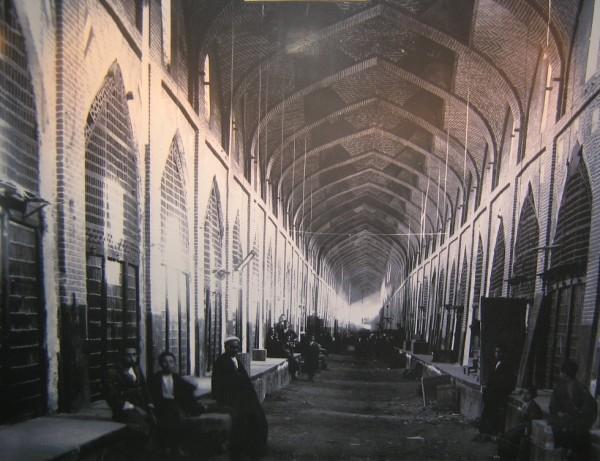 Vakil Bazaar in 1750.