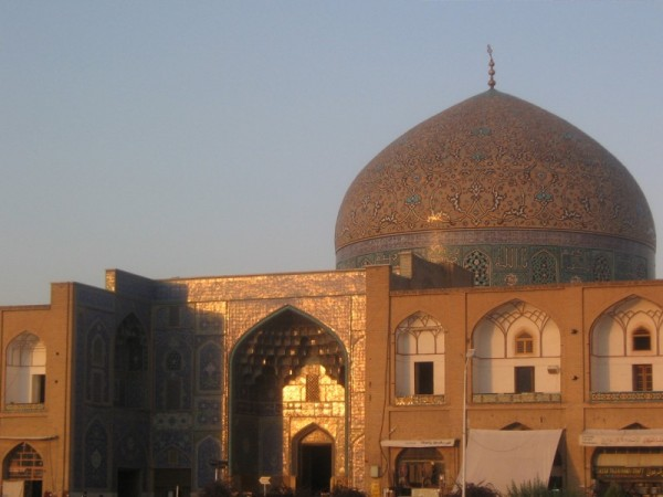 The mosque and sundown