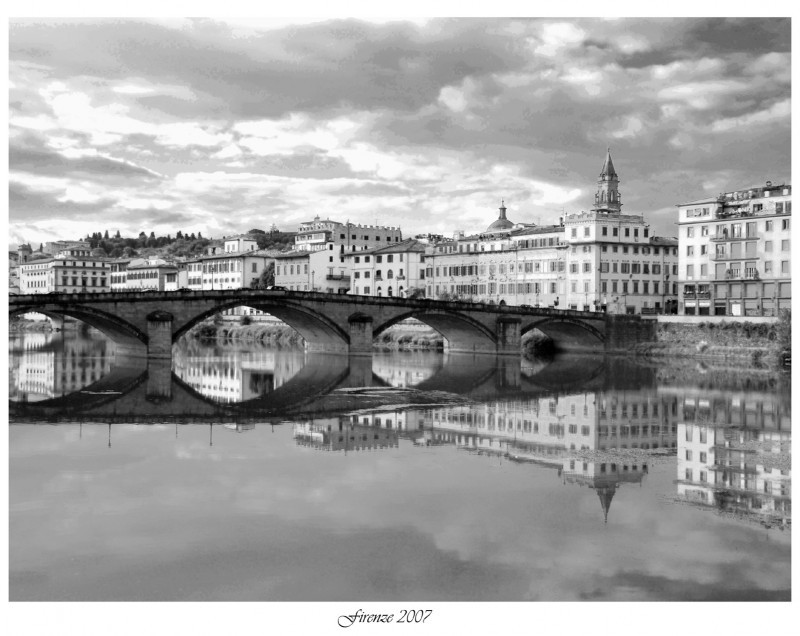 Reflections in the Arno...