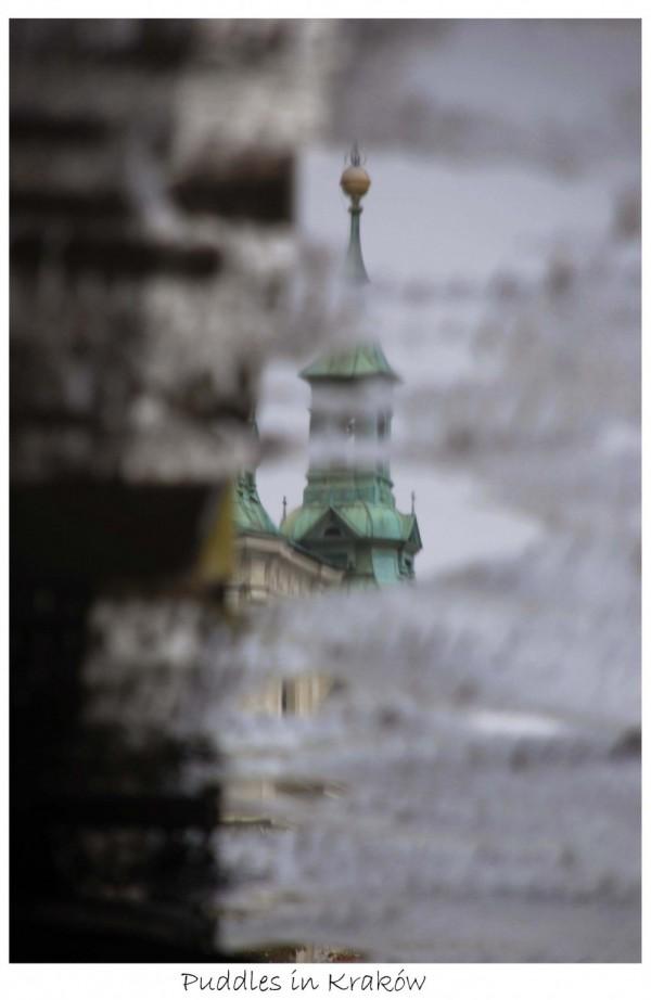 Puddles in Kraków