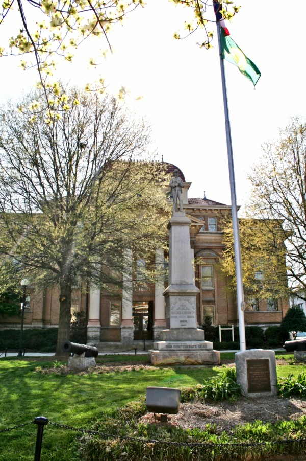 Images of Statesville 12 -- courthouse & statue.