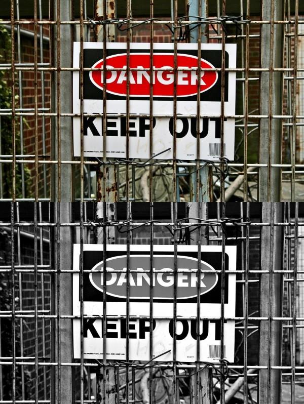 Images of Statesville; Old Hospital Danger.