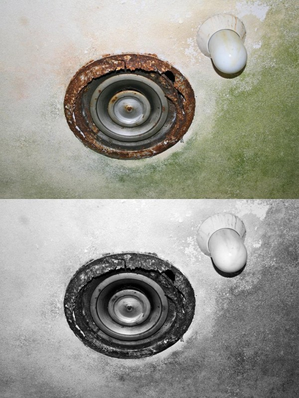 Images of Statesville; Old Hospital Air Duct.