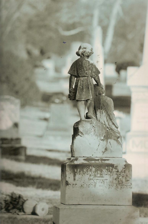 a child's grave.