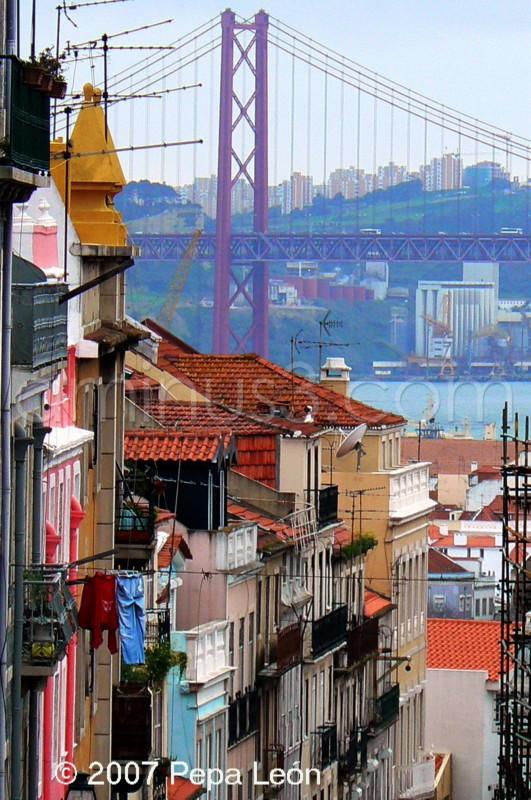 Lisboa, callejón