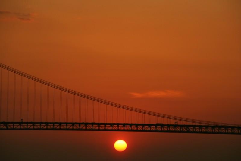 sun under the bridge