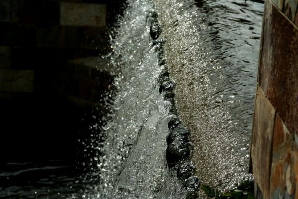 built water fall