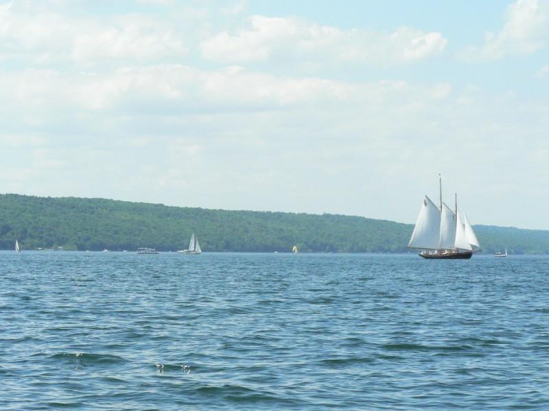 Sails ahoy!