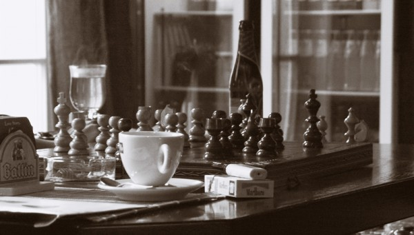 Chess for lunch