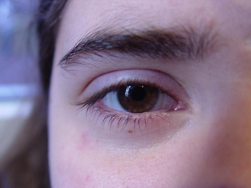 A female eye