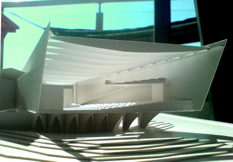 Chapel inspired by Carlo Mollino 01