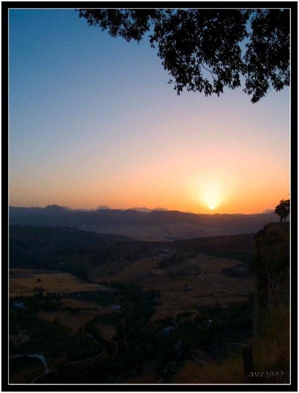 Atardecer en El Tajo / Sunset in El Tajo