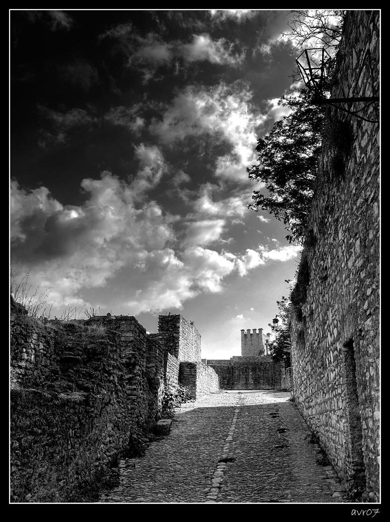 Por la muralla de Ronda
