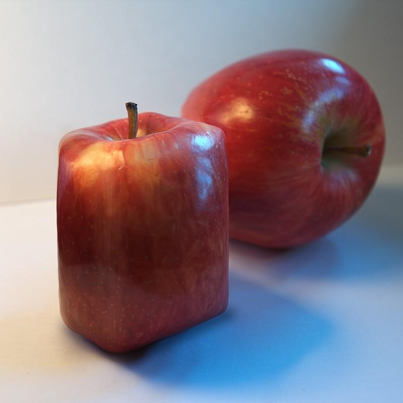 Manzana extraña   /   Weird Apple