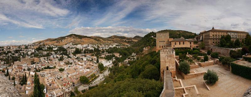 Desde la alcazaba de Granada