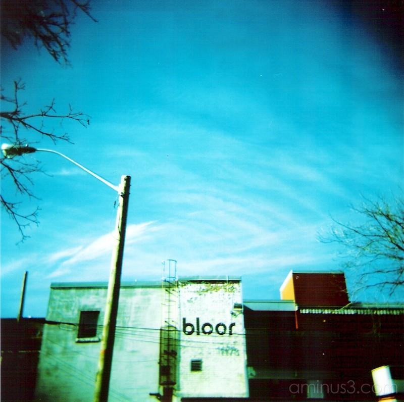 shot just off of bloor street.