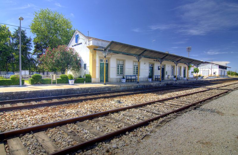 Alentejo Vila Nova da Baronia Train Station Estaçã