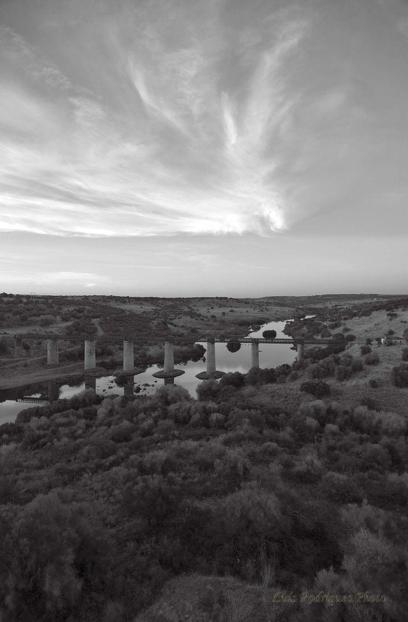 Alentejo Portugal Serpa Sunset Guadiana River