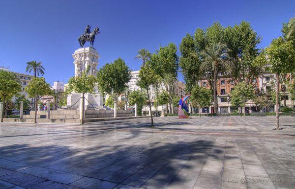 España Spain Sevilla Plaza