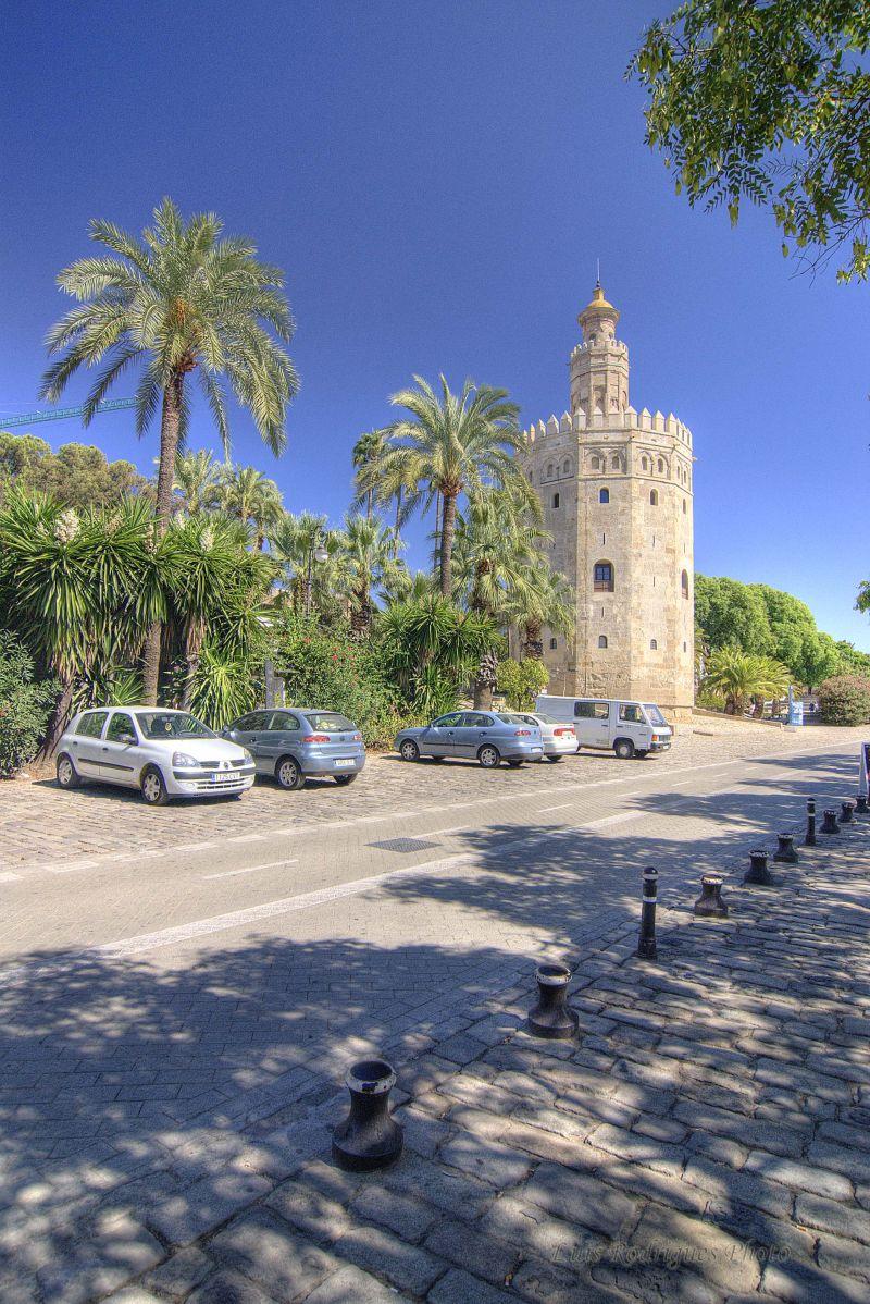 España Spain Sevilla Gold Tower Torre Ouro