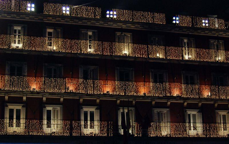 christmas natal madrid plaza mayor