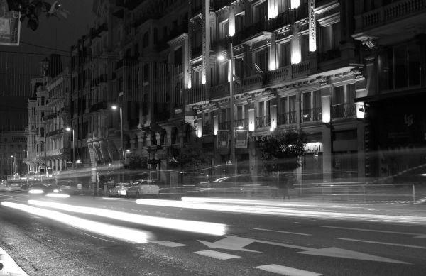 Madrid Street Rua Calle