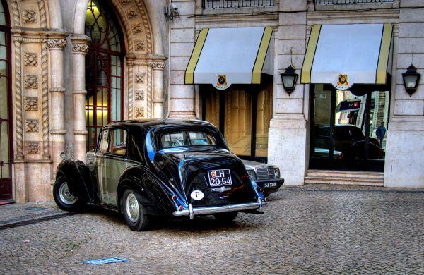 Car, city, Lisboa, Lisbon