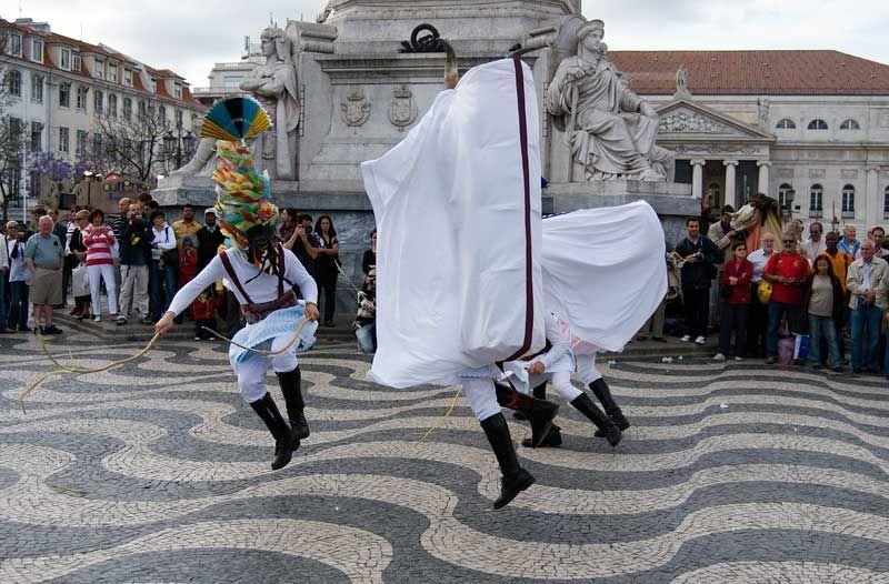 Iberian Mask Festival Lisbon Lisboa Rossio