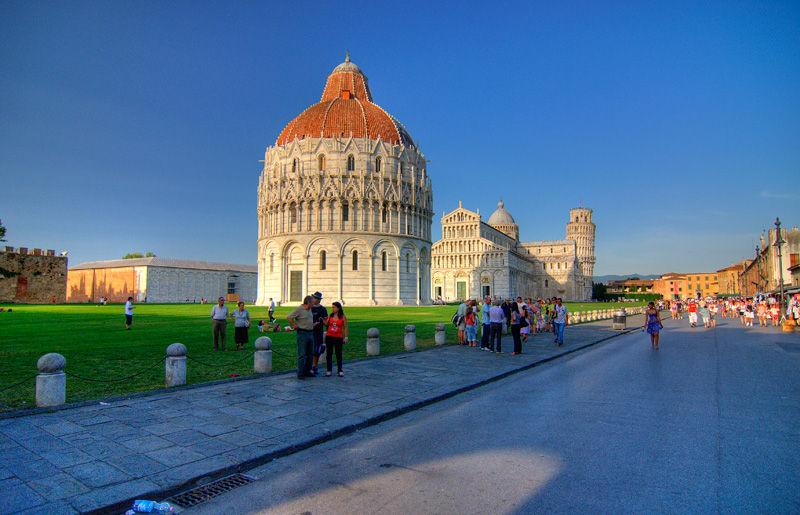 Pisa Italy Baptistry Baptisfério