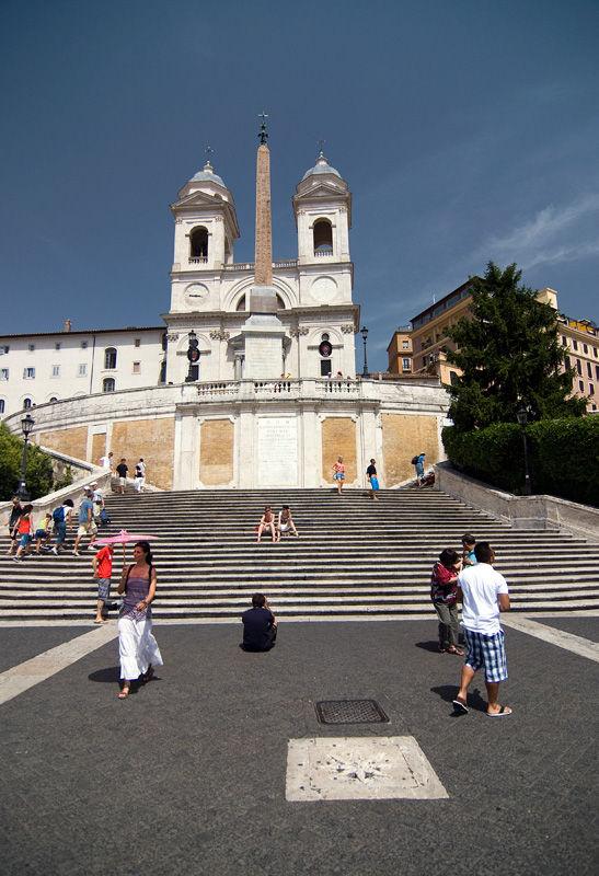 Rome Roma Italy Piazza di Spagna
