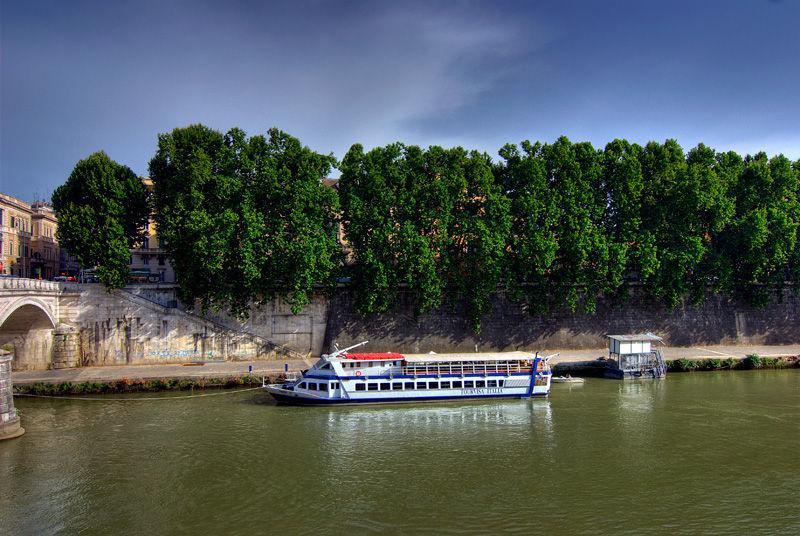 Rome Roma Italy Tevere River