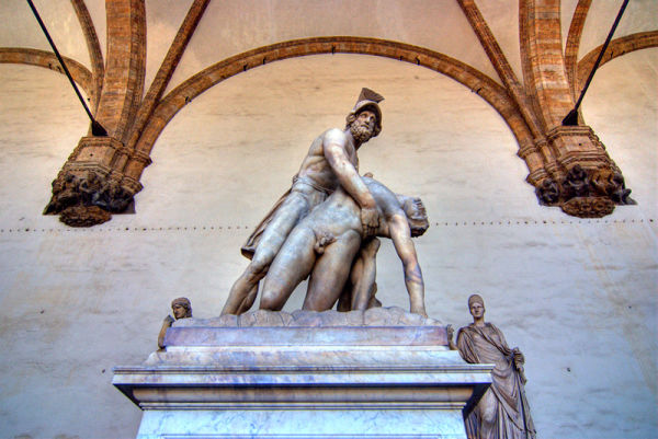 Florence Firenze Toscana Italy Statue