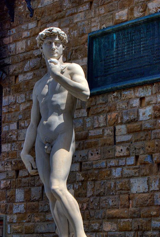 Florence Firenze Toscana Italy David Statue
