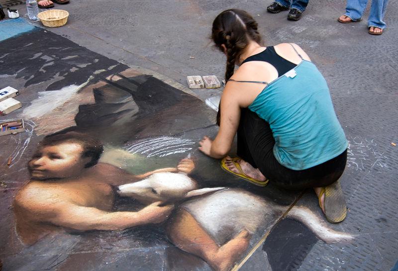 Florence Firenze Toscana Italy Art Street