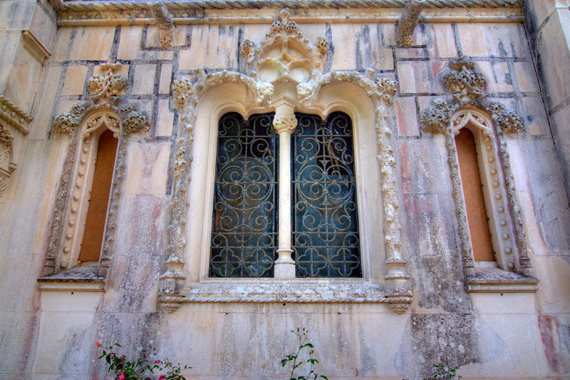 Regaleira's Window Portugal Palace Sintra