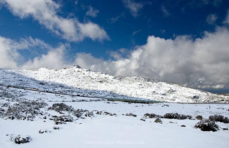 Snow Serra Da Estrela Portugal