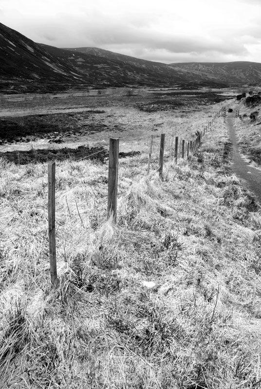 Scotland Landscape Road Highlands