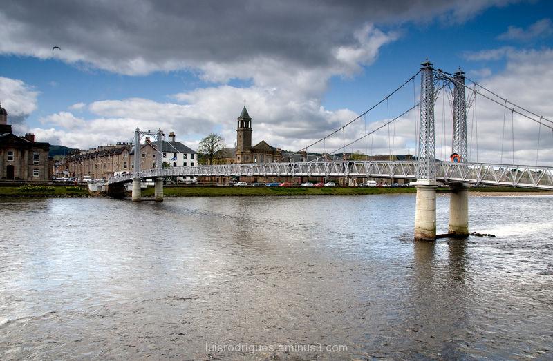 Inverness Highlands Scotland North River