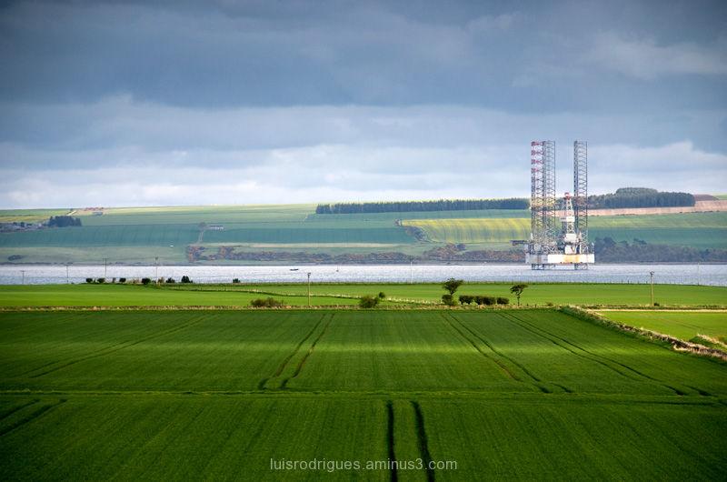 Oil Gas Scotland North Nature Landscape