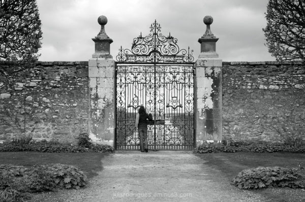 Dunrobin Castle Scotland Sutherland Gardens Gate