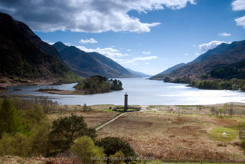 Scotland Loch Shiel Glenfinnan