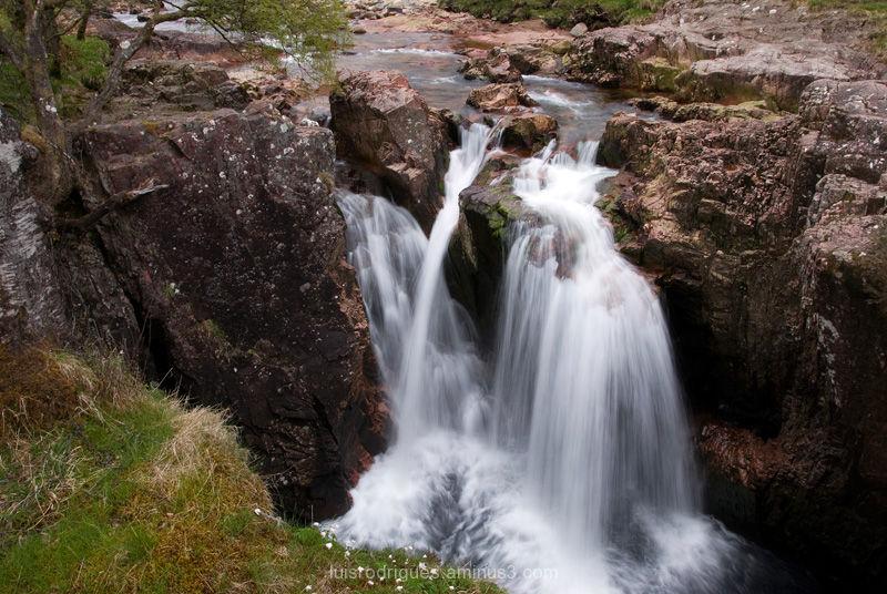 Scotland Ben Nevis Waterfalls