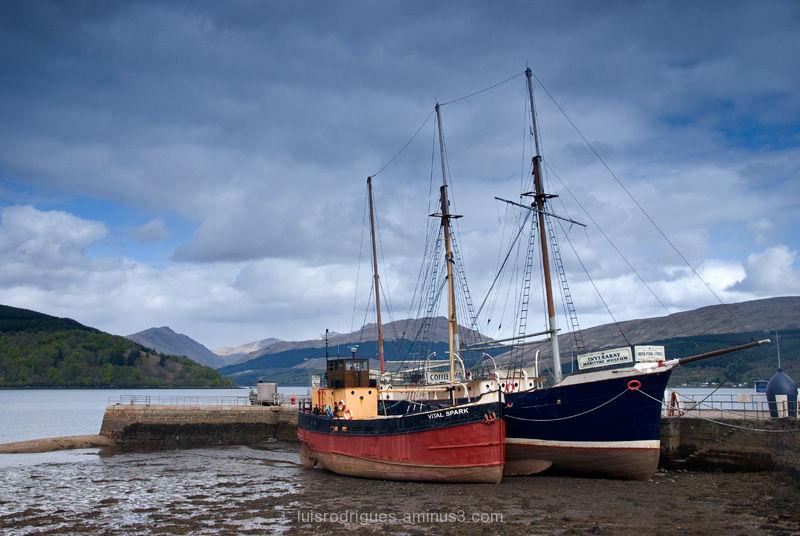 Scotland Inveraray Boats